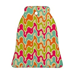 Abstract Pattern Colorful Wallpaper Ornament (Bell)