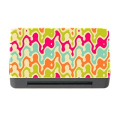 Abstract Pattern Colorful Wallpaper Memory Card Reader With Cf