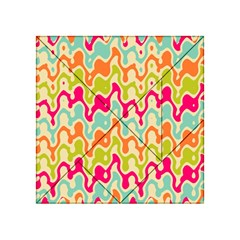 Abstract Pattern Colorful Wallpaper Acrylic Tangram Puzzle (4  x 4 )