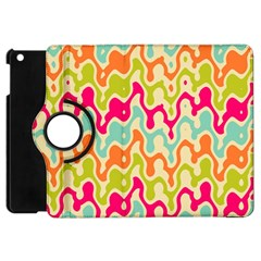 Abstract Pattern Colorful Wallpaper Apple iPad Mini Flip 360 Case