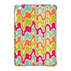 Abstract Pattern Colorful Wallpaper Apple iPad Mini Hardshell Case (Compatible with Smart Cover)