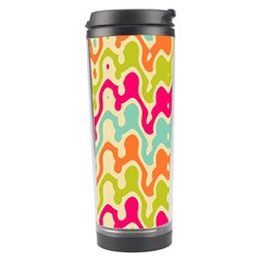Abstract Pattern Colorful Wallpaper Travel Tumbler