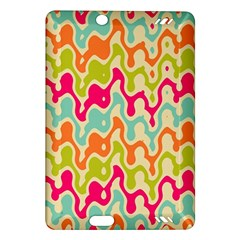 Abstract Pattern Colorful Wallpaper Amazon Kindle Fire Hd (2013) Hardshell Case