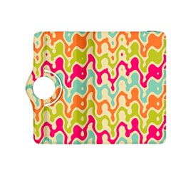 Abstract Pattern Colorful Wallpaper Kindle Fire HDX 8.9  Flip 360 Case