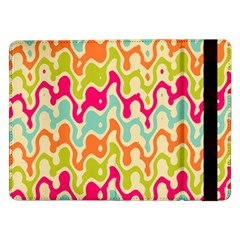 Abstract Pattern Colorful Wallpaper Samsung Galaxy Tab Pro 12.2  Flip Case