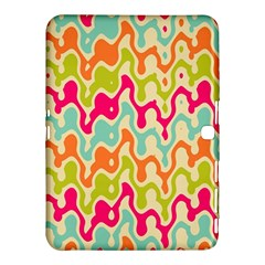 Abstract Pattern Colorful Wallpaper Samsung Galaxy Tab 4 (10.1 ) Hardshell Case