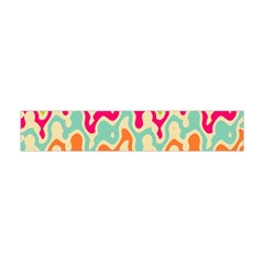 Abstract Pattern Colorful Wallpaper Flano Scarf (Mini)