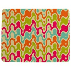 Abstract Pattern Colorful Wallpaper Jigsaw Puzzle Photo Stand (rectangular)
