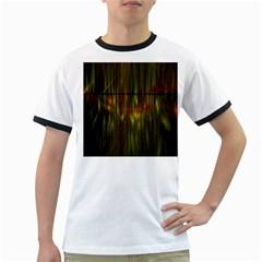 Fractal Rain Ringer T Shirts