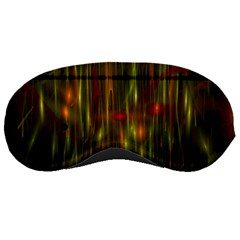 Fractal Rain Sleeping Masks