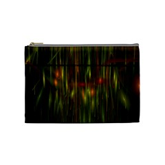 Fractal Rain Cosmetic Bag (Medium)
