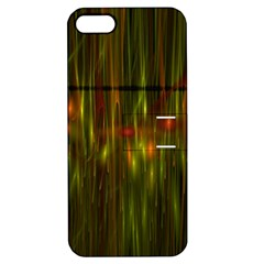 Fractal Rain Apple Iphone 5 Hardshell Case With Stand