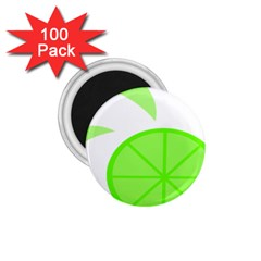 Fruit Lime Green 1 75  Magnets (100 Pack)