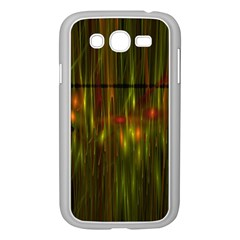 Fractal Rain Samsung Galaxy Grand DUOS I9082 Case (White)