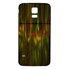 Fractal Rain Samsung Galaxy S5 Back Case (White)