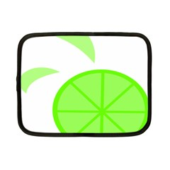 Fruit Lime Green Netbook Case (Small)
