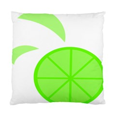 Fruit Lime Green Standard Cushion Case (One Side)