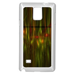Fractal Rain Samsung Galaxy Note 4 Case (White)