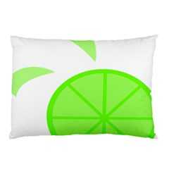 Fruit Lime Green Pillow Case (Two Sides)