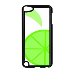 Fruit Lime Green Apple iPod Touch 5 Case (Black)