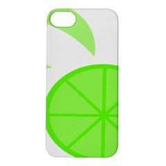 Fruit Lime Green Apple iPhone 5S/ SE Hardshell Case