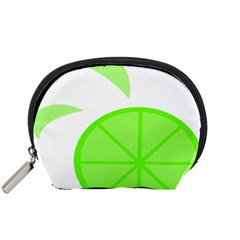 Fruit Lime Green Accessory Pouches (Small)