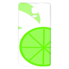 Fruit Lime Green Galaxy Note 4 Back Case