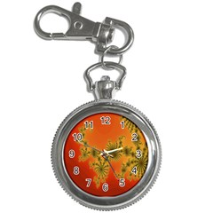 Decorative Fractal Spiral Key Chain Watches