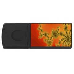 Decorative Fractal Spiral USB Flash Drive Rectangular (4 GB)