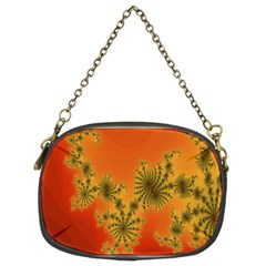 Decorative Fractal Spiral Chain Purses (Two Sides)