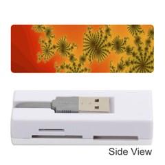 Decorative Fractal Spiral Memory Card Reader (stick)