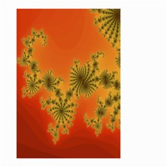 Decorative Fractal Spiral Small Garden Flag (Two Sides)
