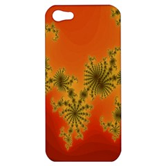 Decorative Fractal Spiral Apple iPhone 5 Hardshell Case