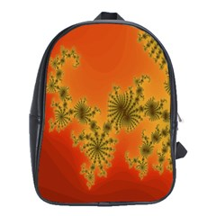 Decorative Fractal Spiral School Bags (XL)