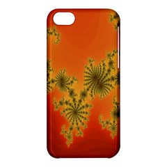 Decorative Fractal Spiral Apple iPhone 5C Hardshell Case