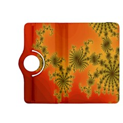 Decorative Fractal Spiral Kindle Fire HDX 8.9  Flip 360 Case