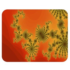 Decorative Fractal Spiral Double Sided Flano Blanket (medium)