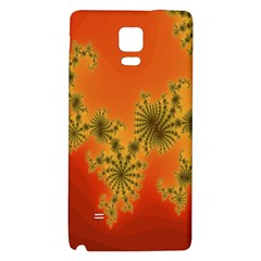 Decorative Fractal Spiral Galaxy Note 4 Back Case