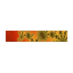 Decorative Fractal Spiral Flano Scarf (Mini)