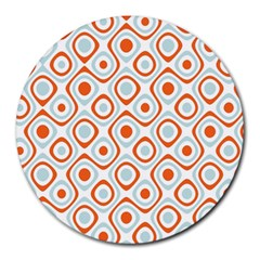 Pattern Background Abstract Round Mousepads