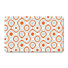 Pattern Background Abstract Magnet (rectangular)