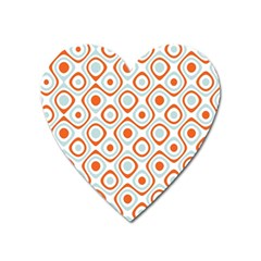 Pattern Background Abstract Heart Magnet