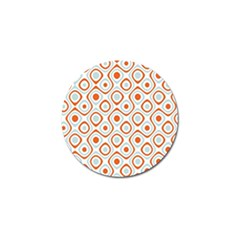 Pattern Background Abstract Golf Ball Marker (4 Pack)