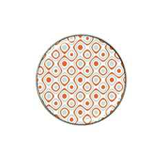 Pattern Background Abstract Hat Clip Ball Marker (10 Pack)