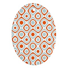 Pattern Background Abstract Oval Ornament (Two Sides)
