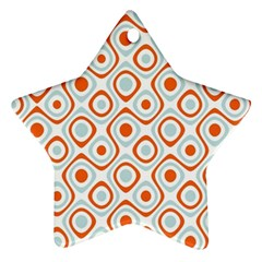 Pattern Background Abstract Star Ornament (two Sides)