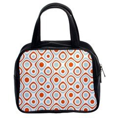 Pattern Background Abstract Classic Handbags (2 Sides)