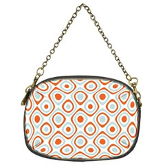 Pattern Background Abstract Chain Purses (two Sides)