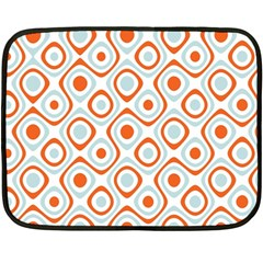Pattern Background Abstract Double Sided Fleece Blanket (Mini)