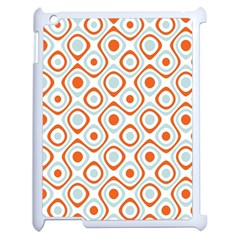 Pattern Background Abstract Apple iPad 2 Case (White)